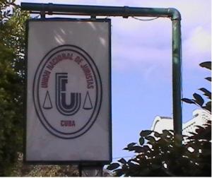 Jury Sign in Cuba