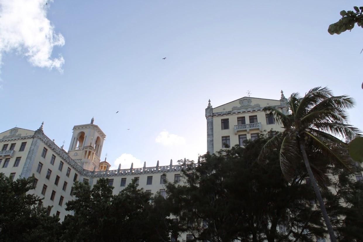 Majestic building in Cuba